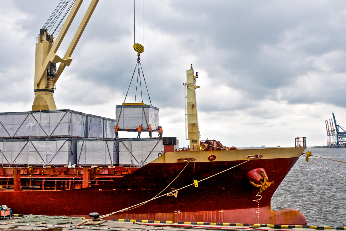 Pace Cargo ship Loading