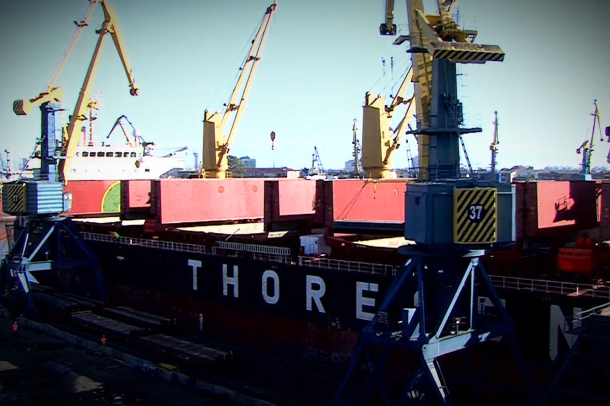 Pace Container Ship Loading Sector